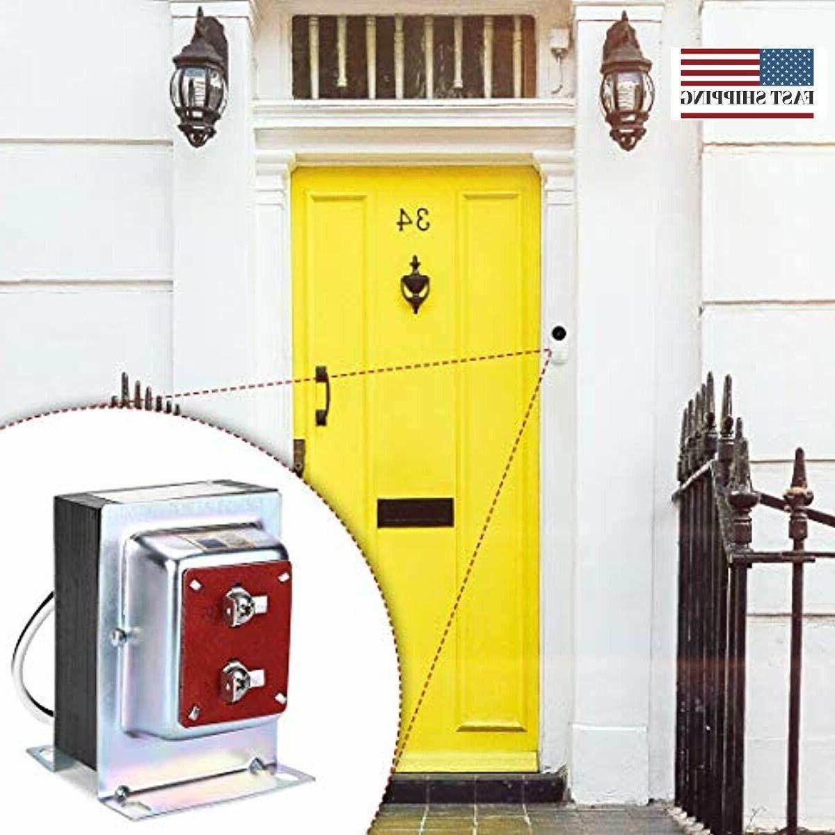 Doorbell Transformer, Door Chime Transformer Compatible with