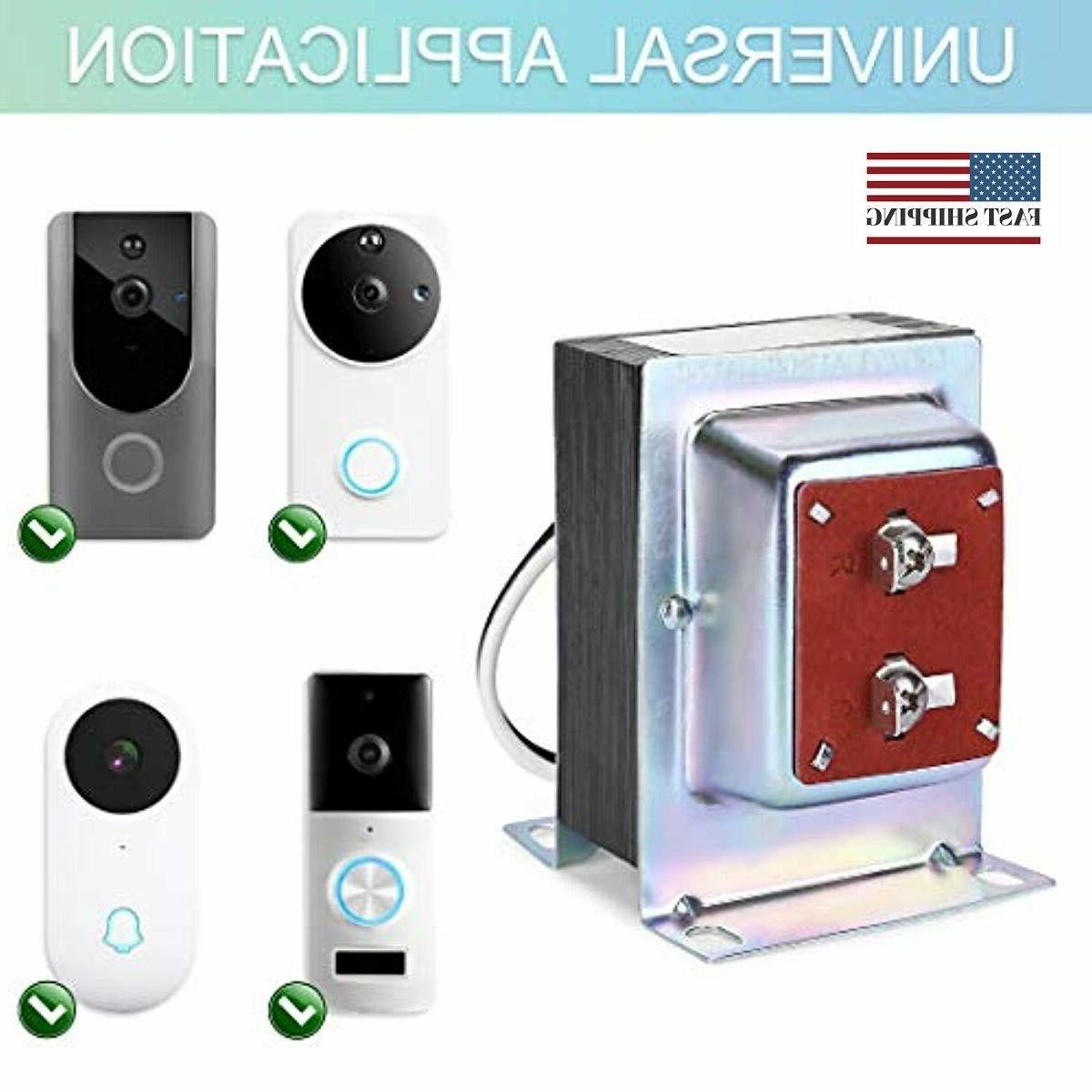 Doorbell Transformer, Hardwired Door Chime with R