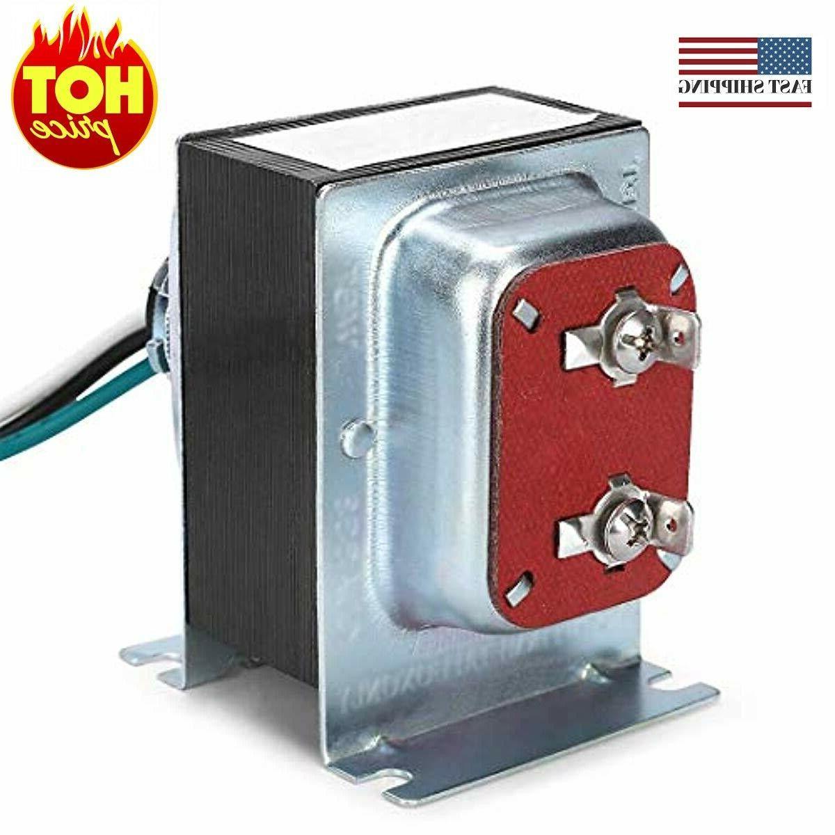 doorbell transformer hardwired door chime transformer compat