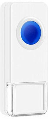 Coolqiya Doorbell Transmitter Accessory Waterproof Push Butt
