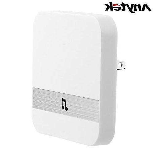 Alloet Wireless WiFi Video Doorbell+ Doorbell Receiver