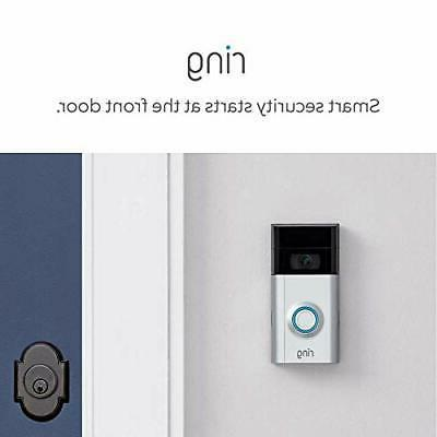 Ring Video Wireless Doorbell 2 Wire-Free Video Doorbell New