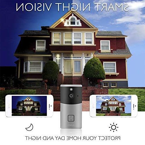 Video AUNEX Doorbell PIR Detection Cloud HD Wireless Doorbell Security & Support