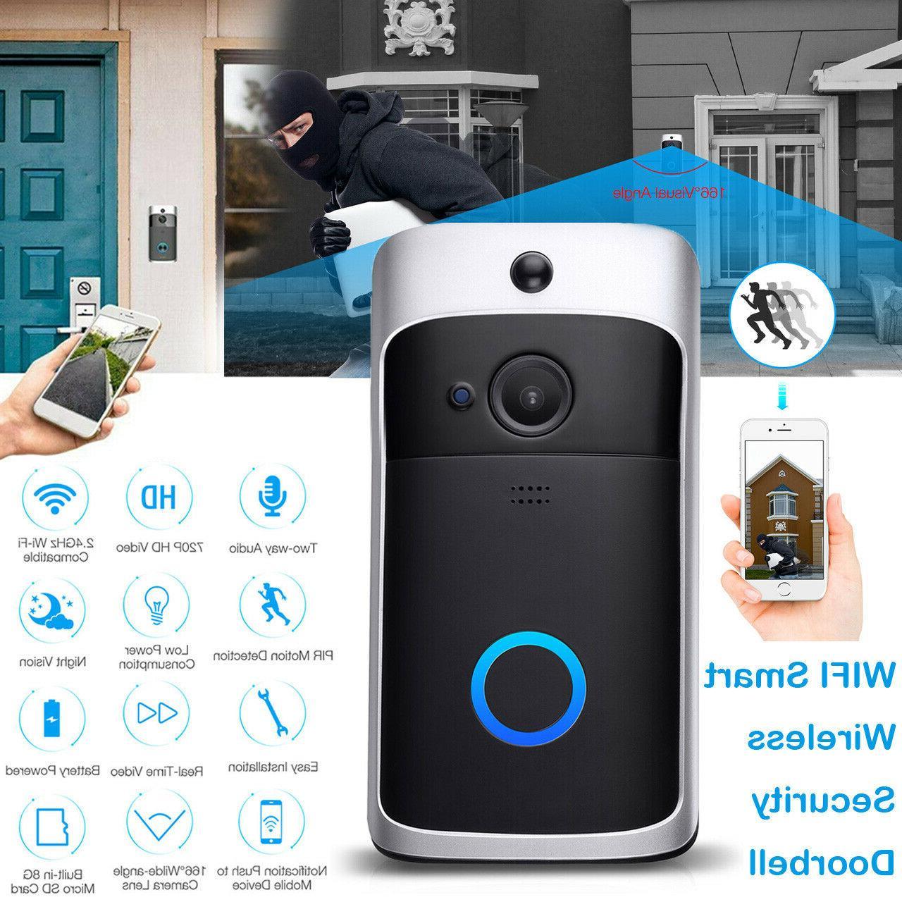 WiFi Two-Way Talk Door Bell