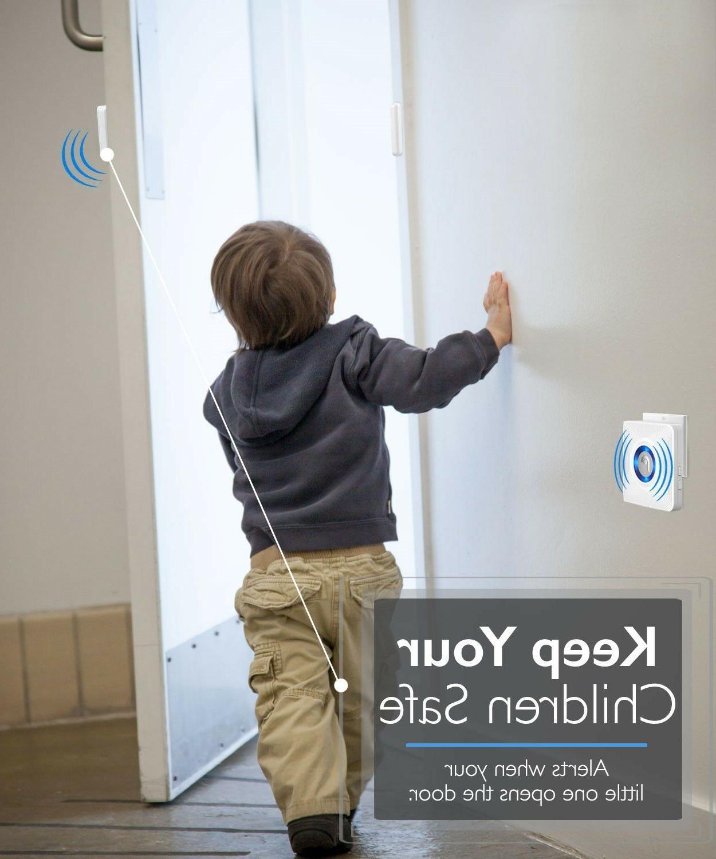 EU Window/Door Open Chime Security Doorbell Magnetic