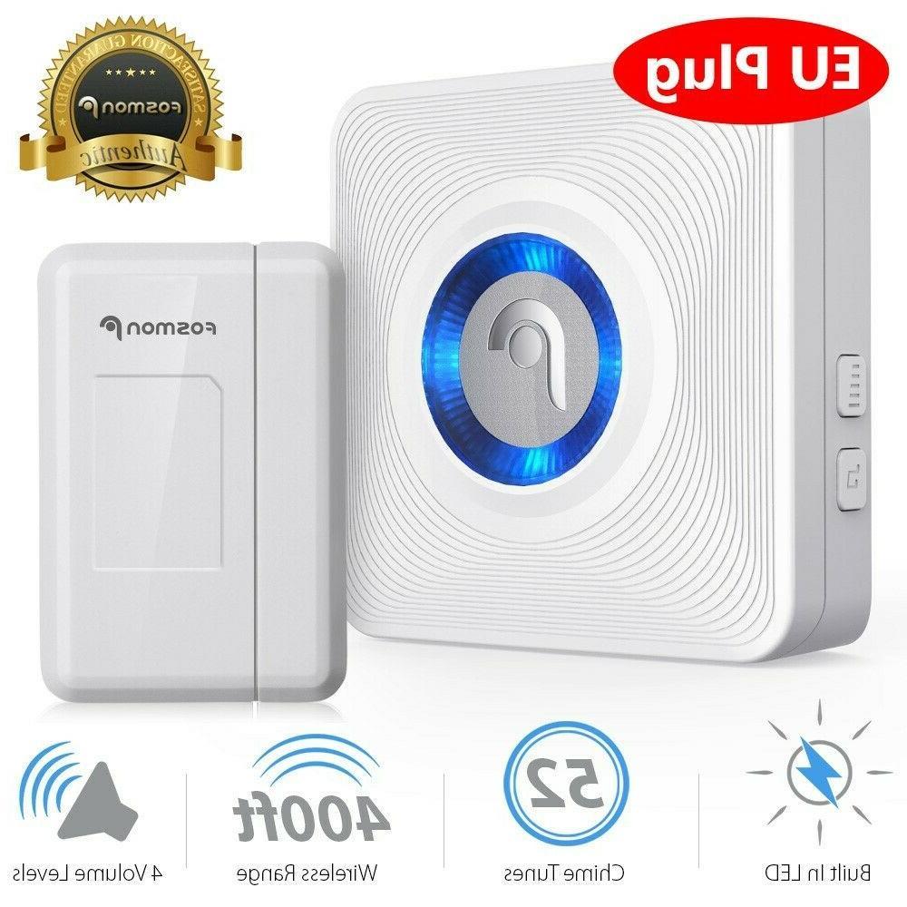 eu wireless window door open chime entry