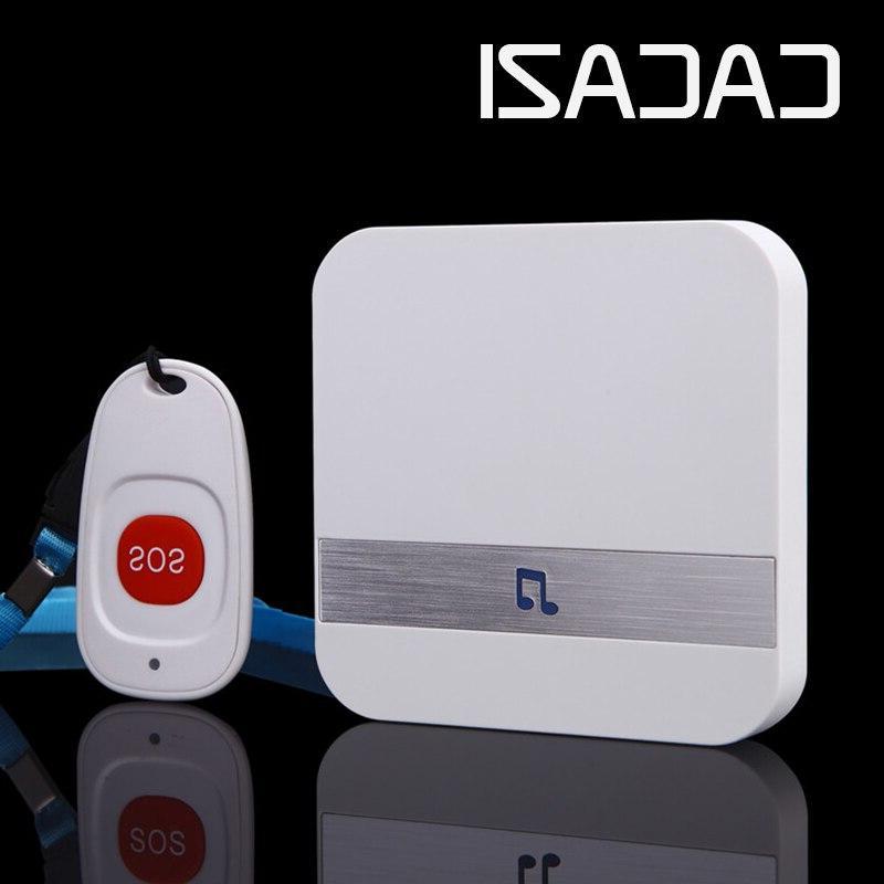 <font><b>CACAZI</b></font> Wireless Medical Call Button Service Caregiver Buttons 1 Call Alert Safety