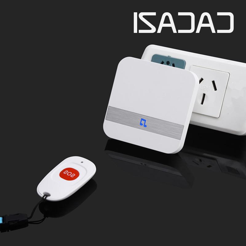 <font><b>CACAZI</b></font> C1 Wireless Medical Call System Service Buttons 1 Receiver Medical Call Alert Safety Alarm