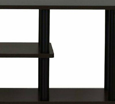 Furinno Turn-N-Tube No Tools 3D TV Stands,