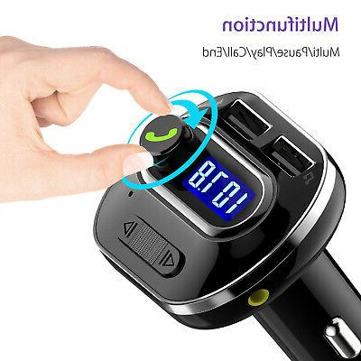 Wireless Bluetooth Auto Handsfree Car Audio Receiver FM