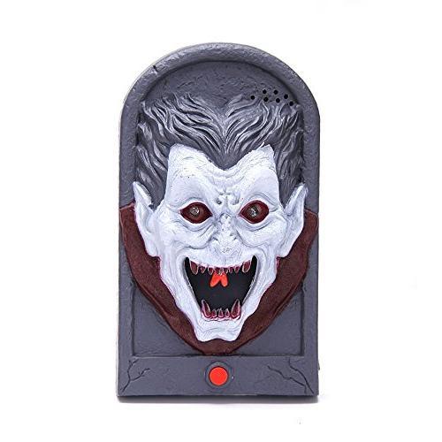 halloween vampire doorbell light eyeball