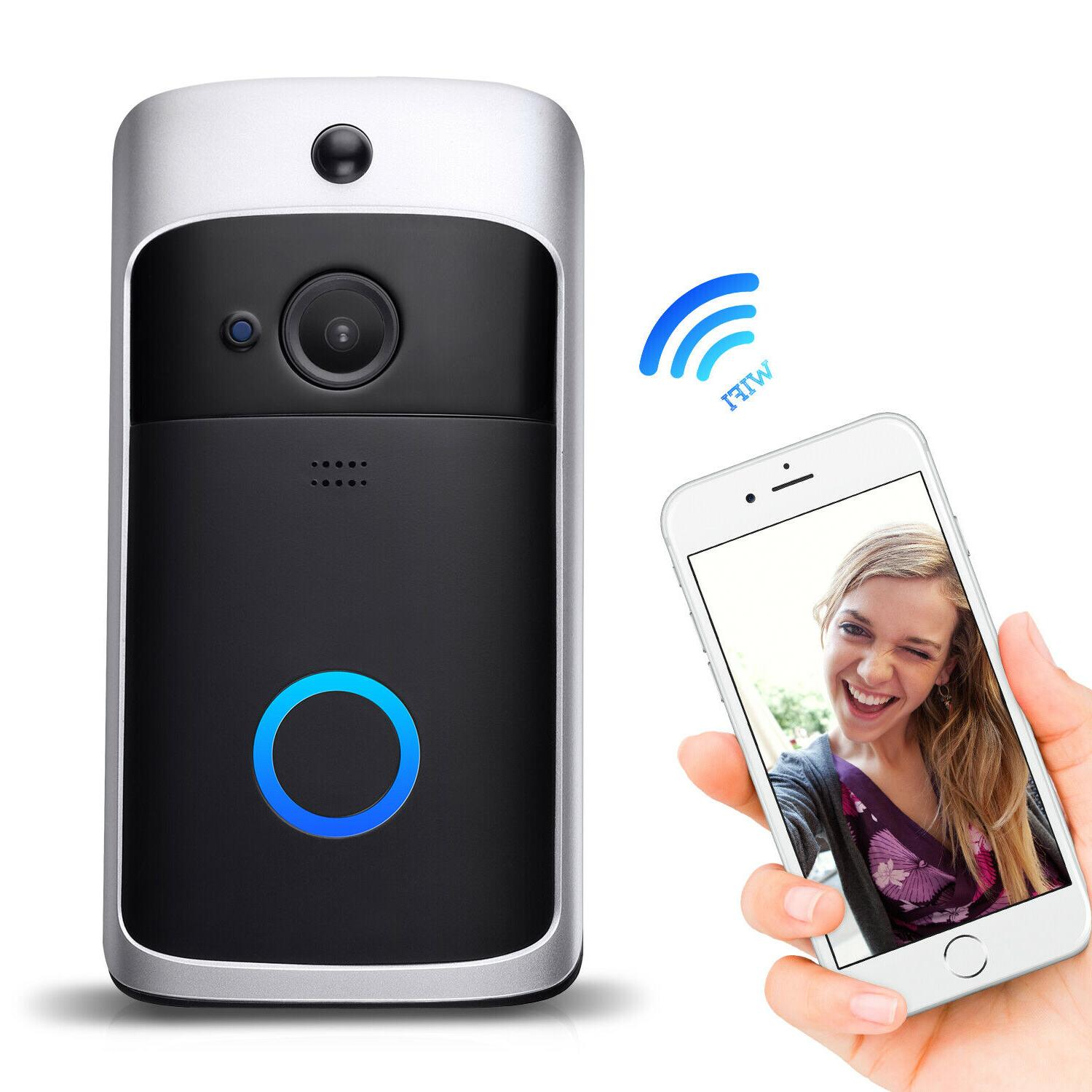 Two-Way WiFi Doorbell Camera