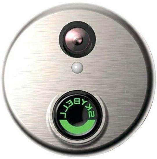 hd silver wifi video doorbell sh02300bz