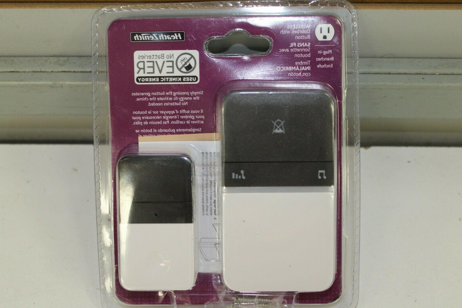 heath zenith battery free wireless doorbell