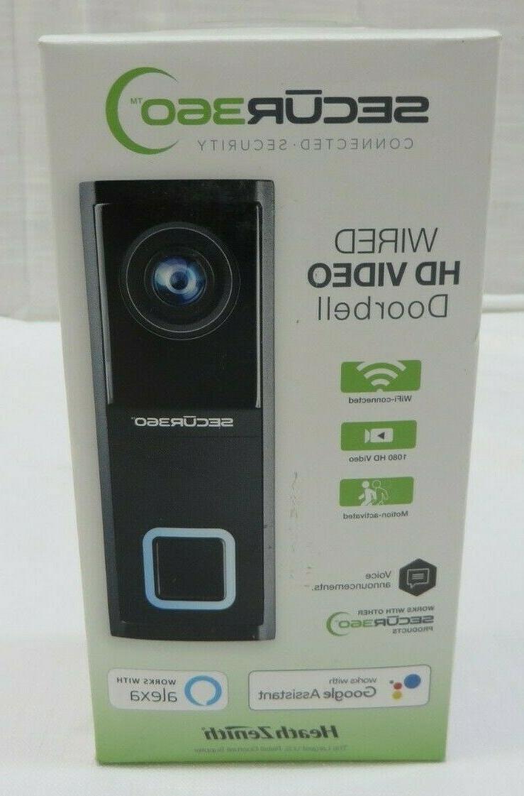 heath zenith secur 360 wired hd video