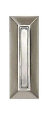 Heath Zenith SL-753-02 Slim-Line Wired Lighted Push Button,