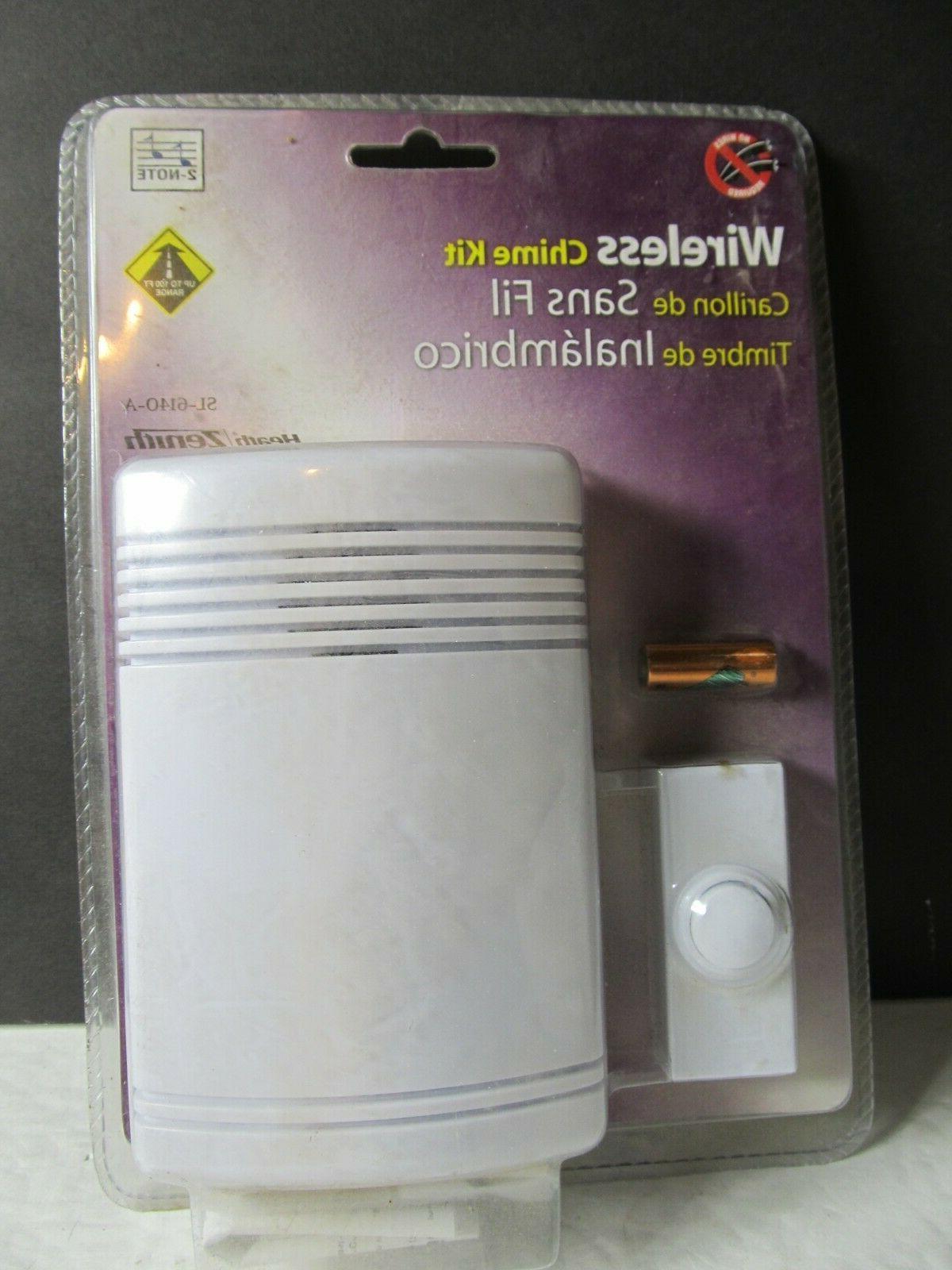 heath zenith wireless door chime