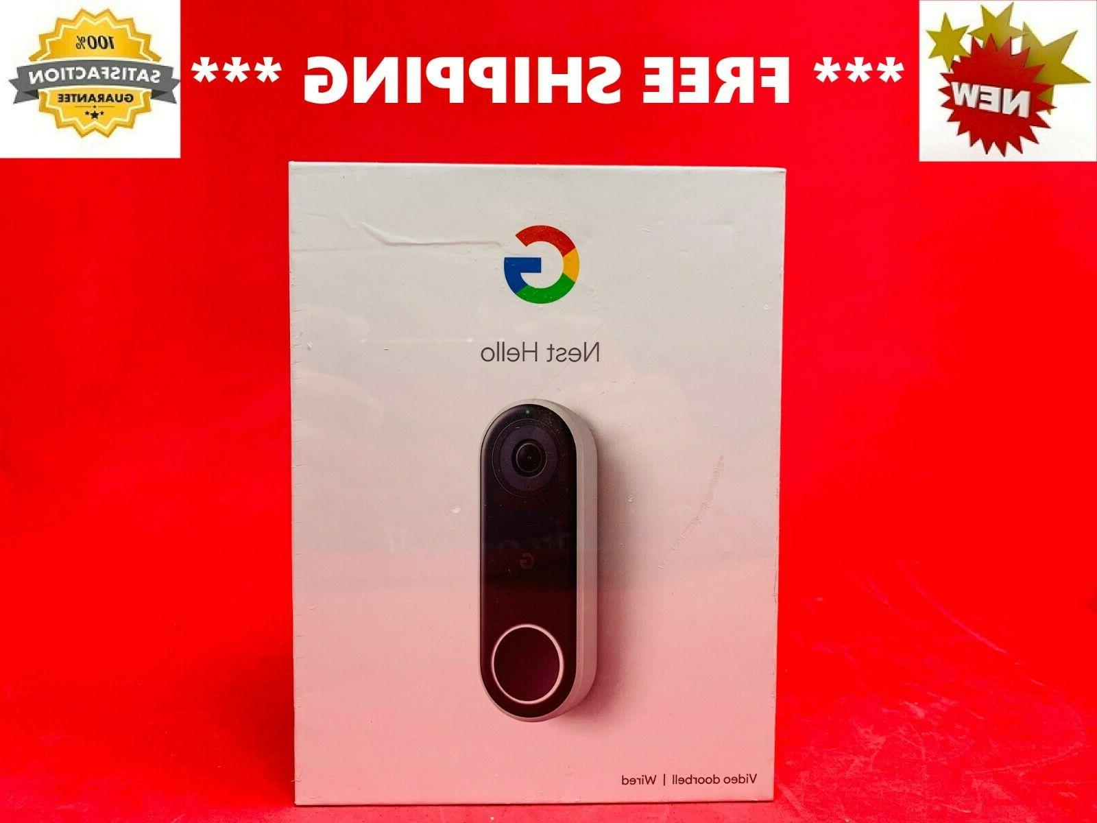 hello video doorbell hdr full hd nc5100us