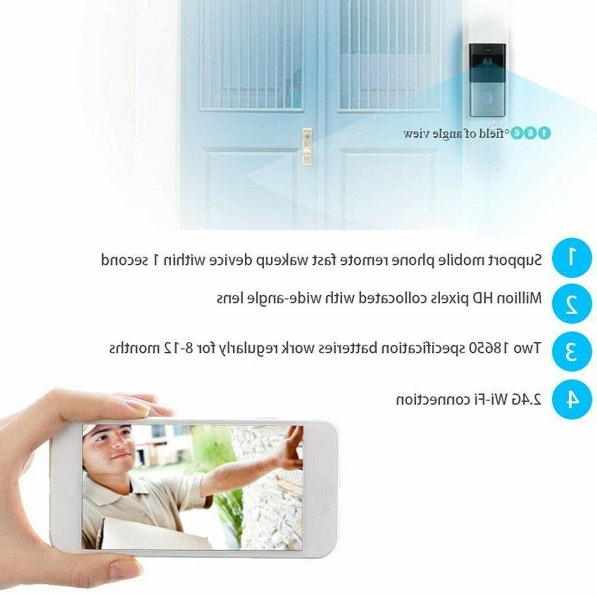 Home Phone 720P DoorBell Camera Motion Detection