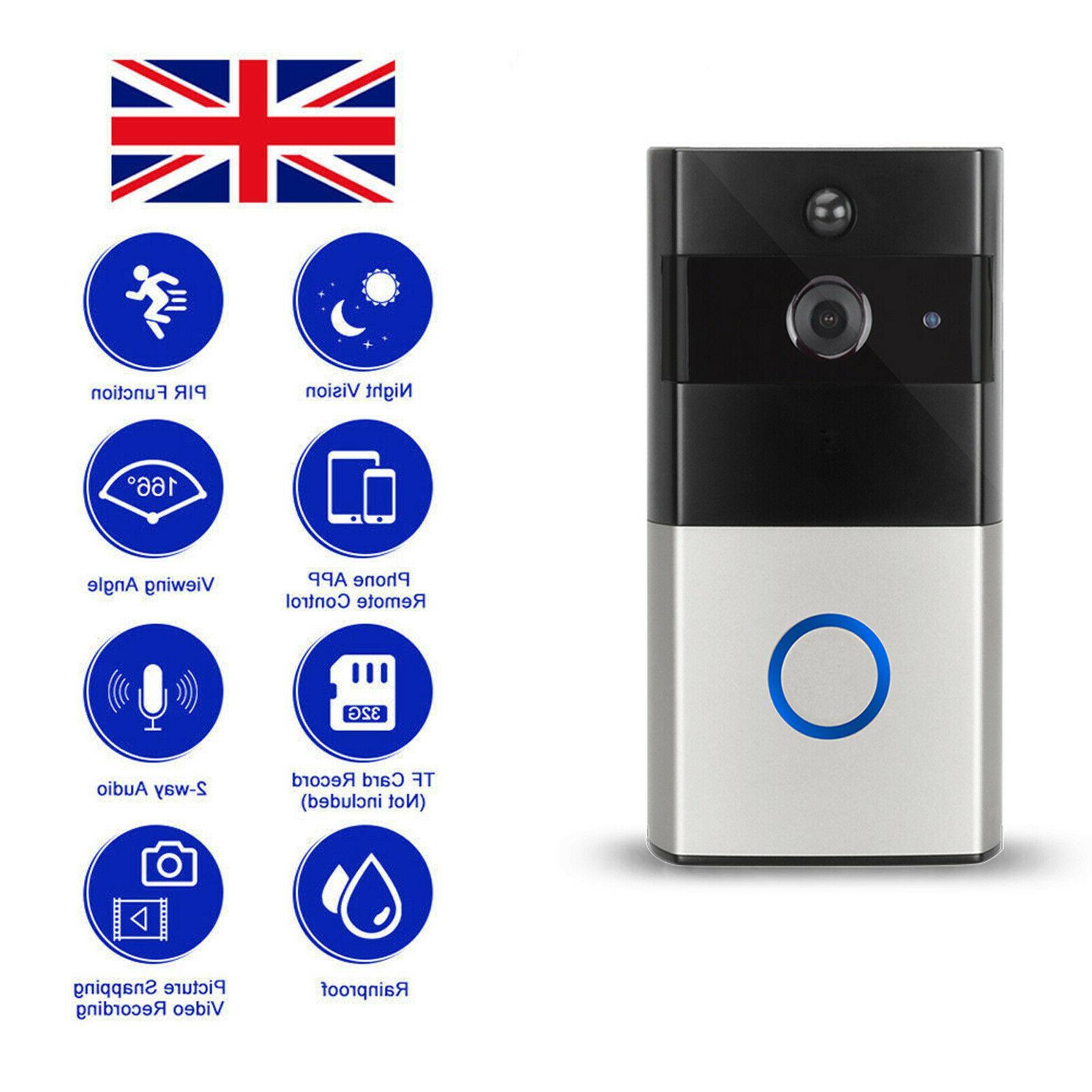 Home Pro Phone DoorBell Camera Door Bell Detection