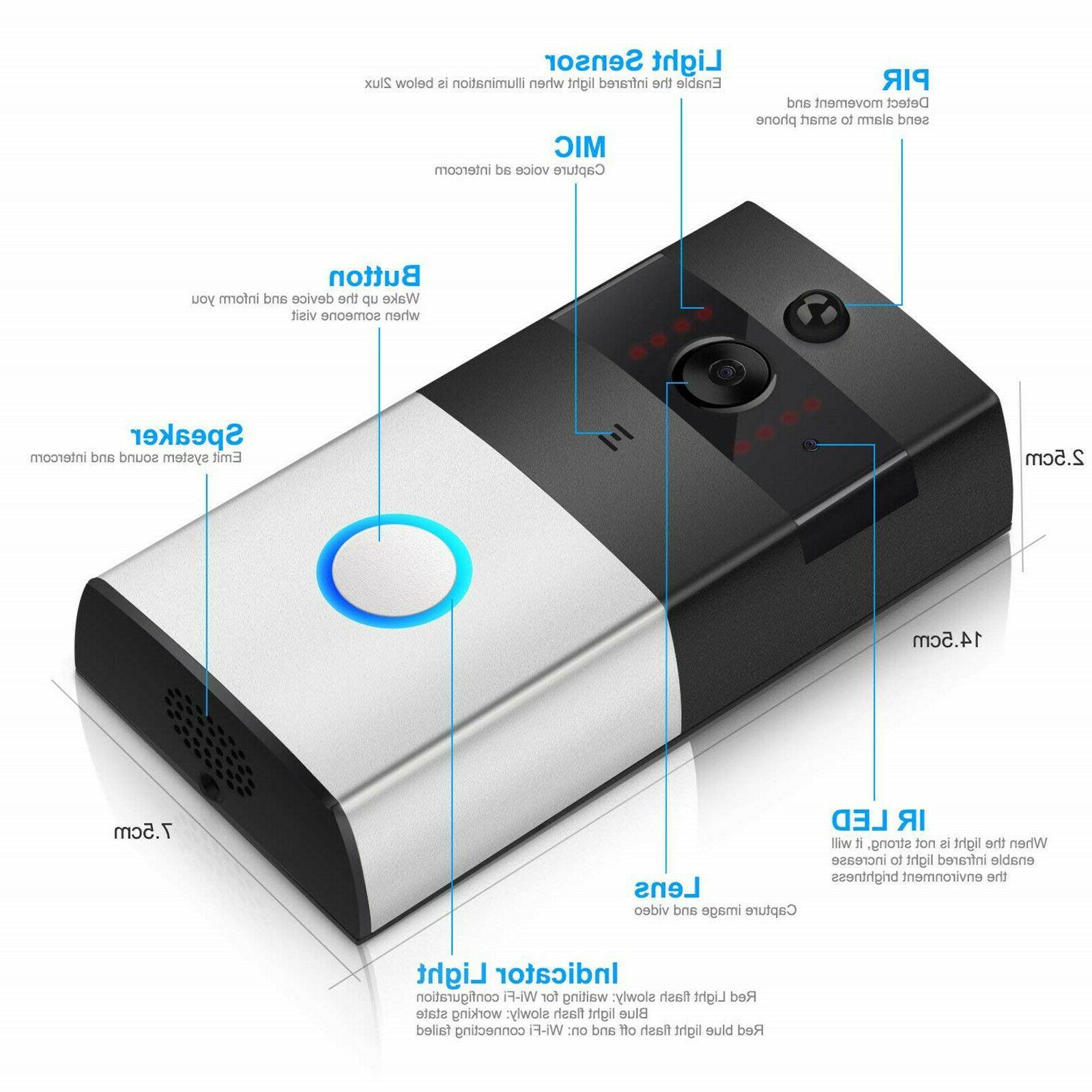 Home Phone 720P Camera Door Bell Detection