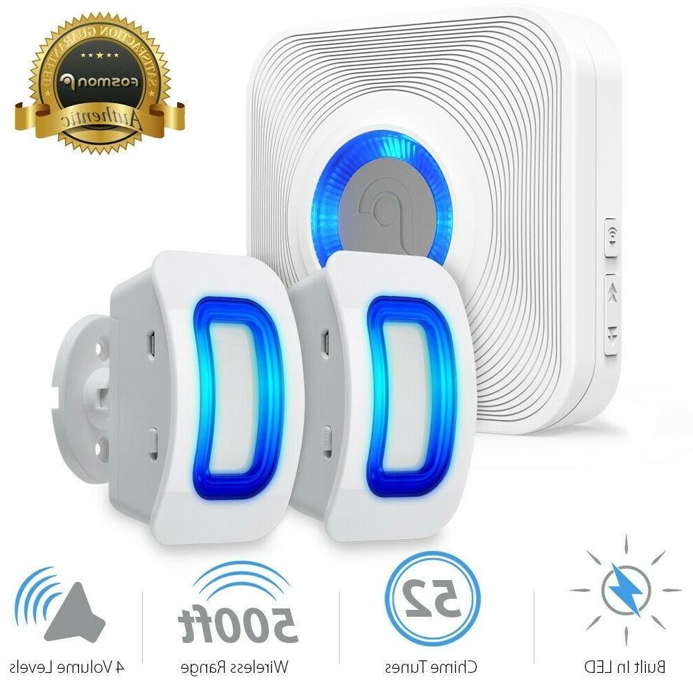 home security wireless driveway alarm doorbell garage