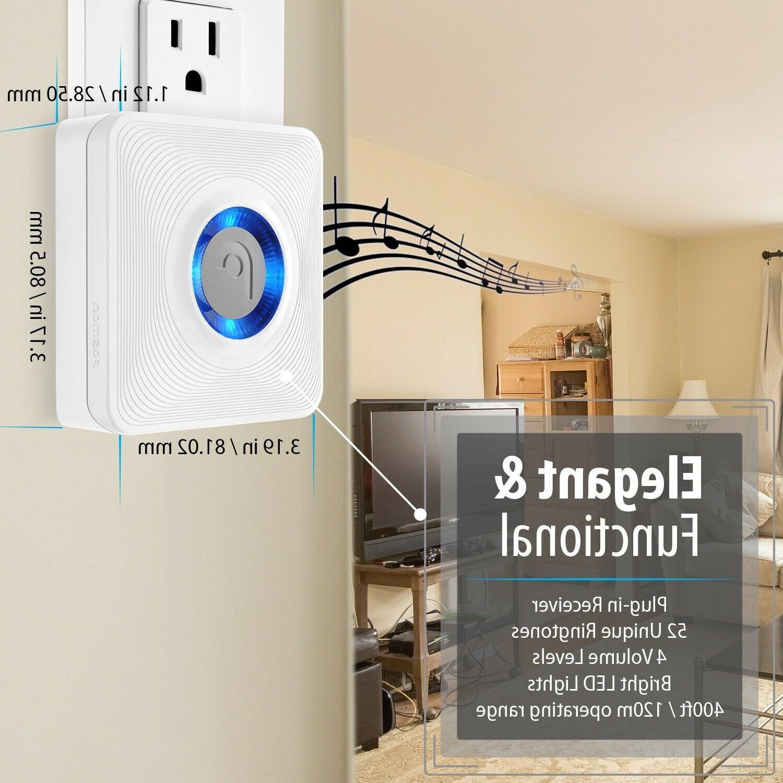 Home Driveway Alarm Doorbell Motion Detector
