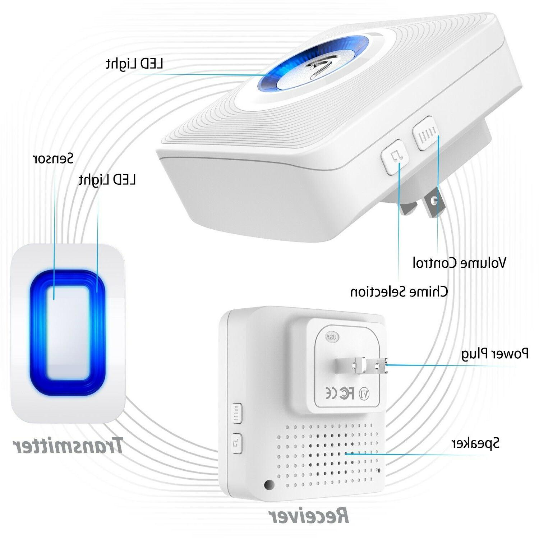 Home Security Driveway Alarm Motion Sensor Detector