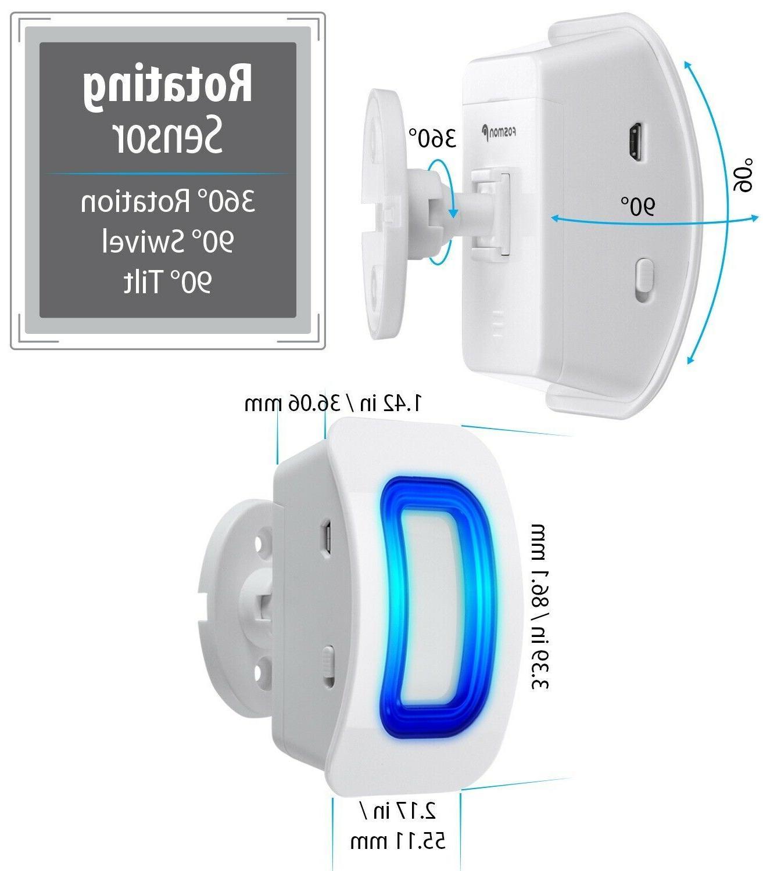 Home Wireless Driveway Alarm Doorbell Outdoor Sensor