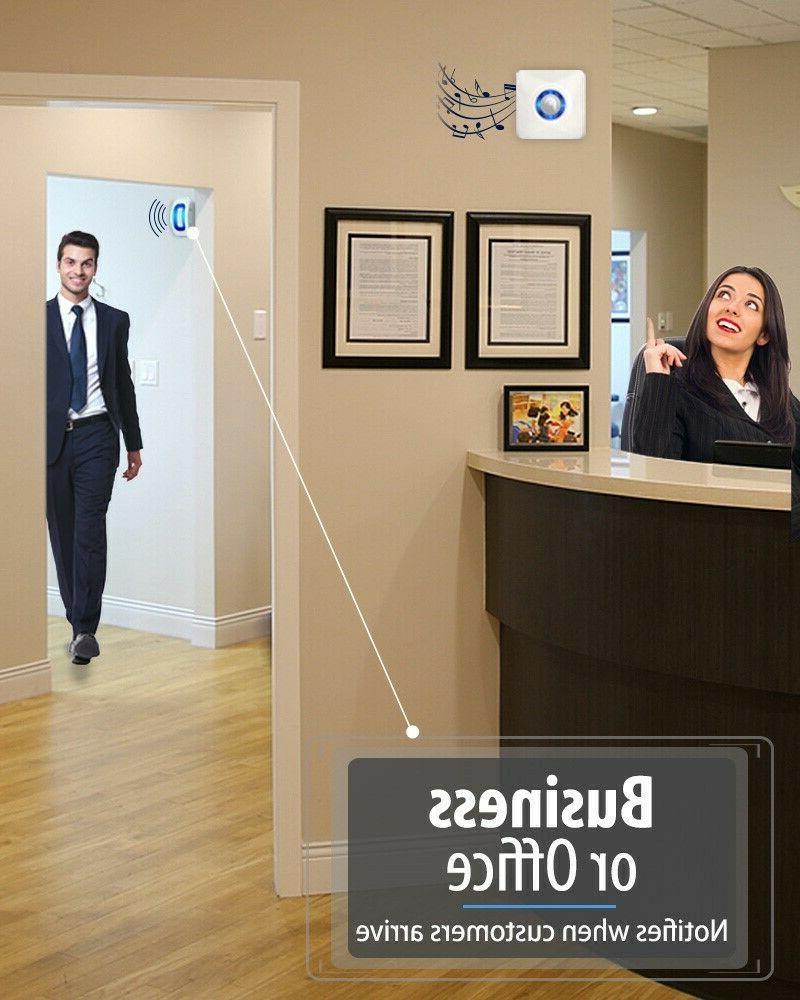 Home Security Alarm Doorbell Garage Motion Sensor