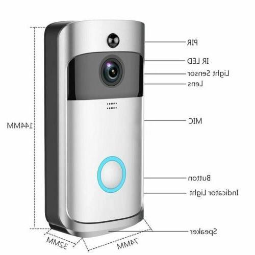 Wireless Smart WiFi 1080P Camera Night Vision in Receiver