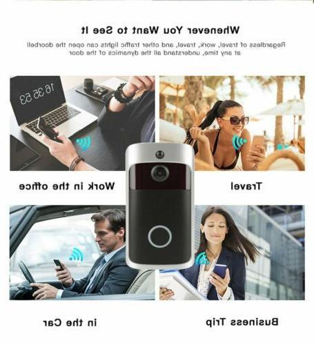 Smart Door Wifi Doorbell Camera Intercom