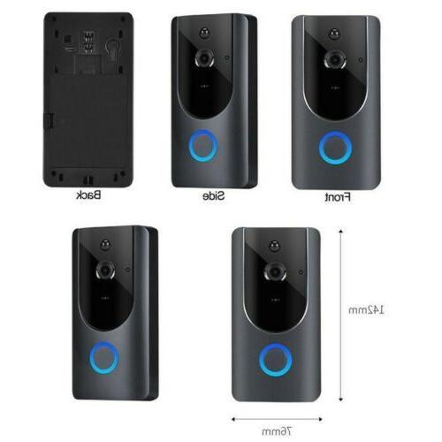 Home Smart WiFi Doorbell Wireless Record Security