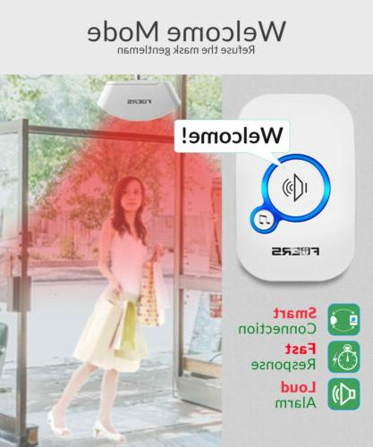 Home Waterproof Wireless Burglar Welcome