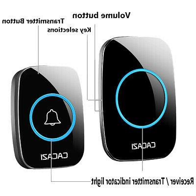 Home Wireless Remote 300M Distance Waterproof 1 transmitter 2