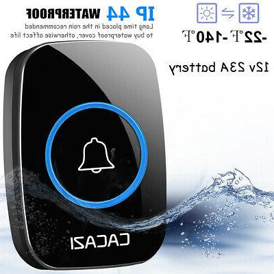 Home Wireless Doorbell 300M Distance Waterproof transmitter 2