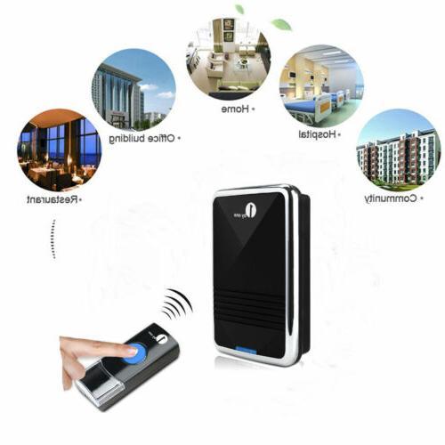 1byone battery chime portable range 36 WATERPROOF
