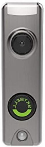 Honeywell SkyBell Slim Design 1080p Wi-Fi Video Doorbell Sil