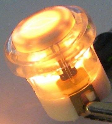 illuminated doorbell switch lighted amber door bell