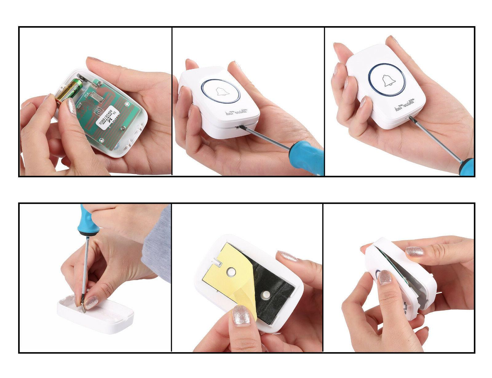 Wireless Operated Remote Button Receiver