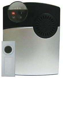 Long Range 1000 ft. Wireless Loud Doorbell System for Hard o