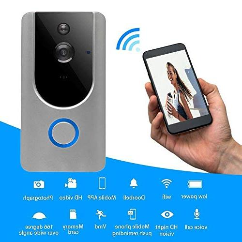 Alloet Wireless Camera Smart WiFi Video Door Phone Intercom