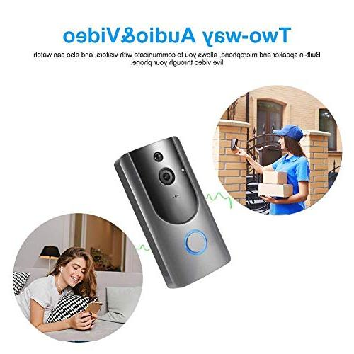 Alloet Doorbell Camera 720P HD WiFi Video Phone