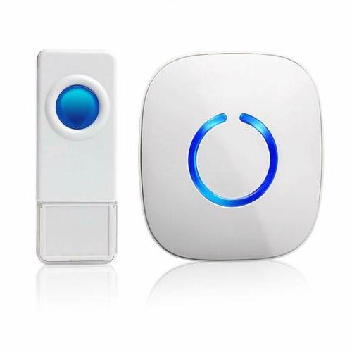 model c waterproof wireless doorbell operating at