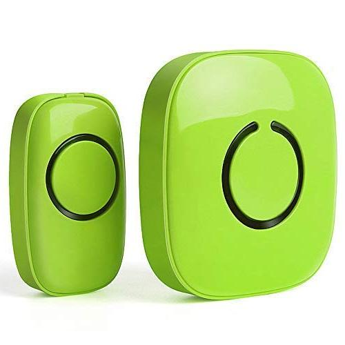 SadoTech Doorbell Operating 500-feet Range Over 50 Required for Receiver,