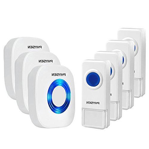 model cw waterproof wireless doorbell