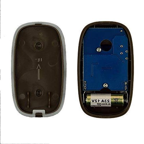 SadoTech Model Doorbell 1 Remote Button and Receivers Operating 5