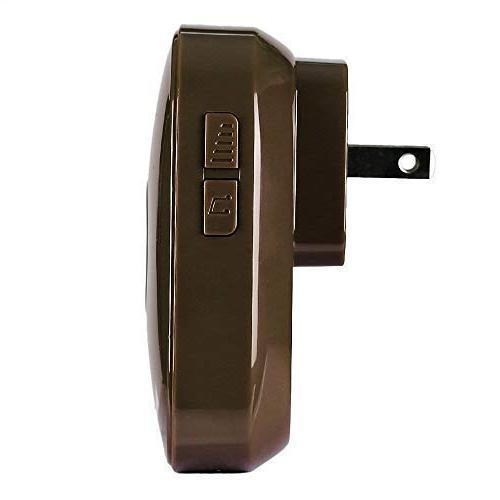 SadoTech CXR Wireless Doorbell Remote Button Plugin Receivers 5