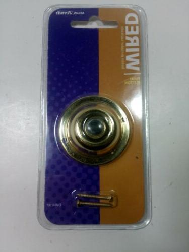 new dw vjrp wired polished brass finish
