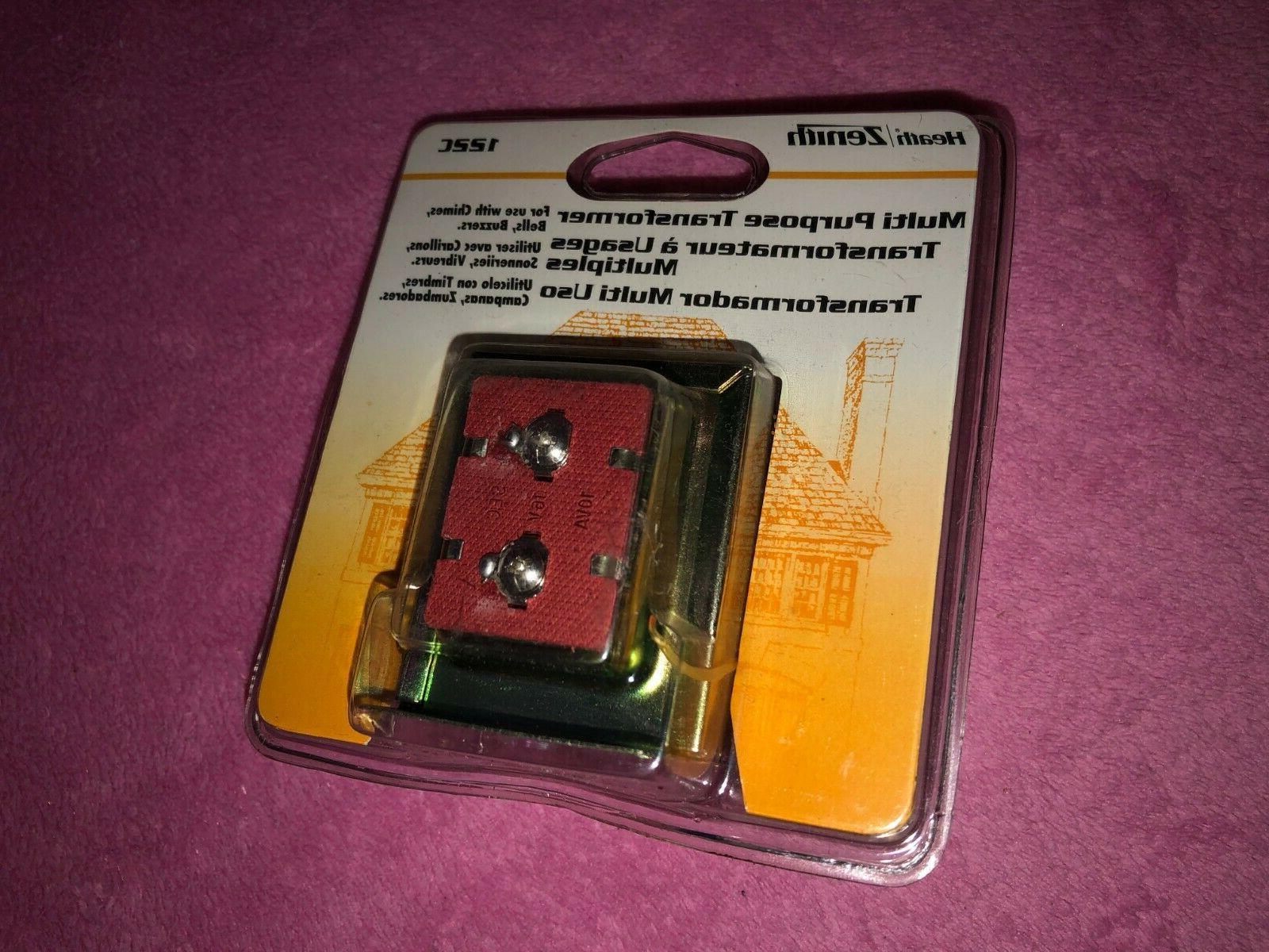new heath zenith 122c doorbell chime transformer
